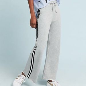Anthropologie Wide-Leg Terry Sweatpants - Size S